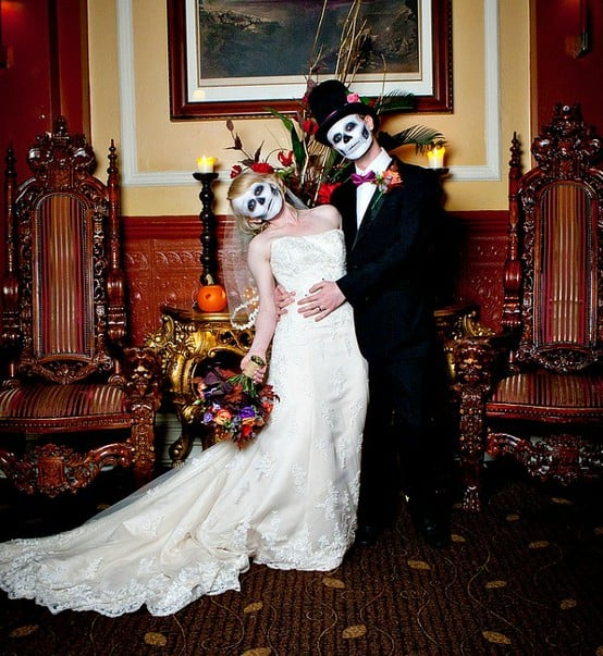 Halloween Weddings: Wednesday Wedding Inspiration