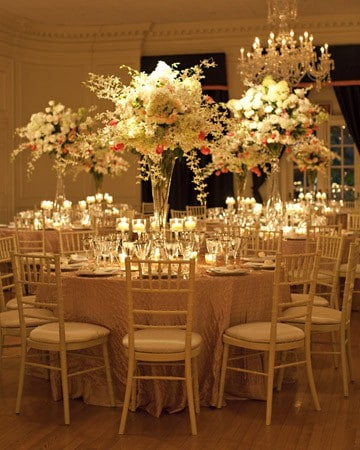 Wedding Flowers: wedding reception flower arrangement