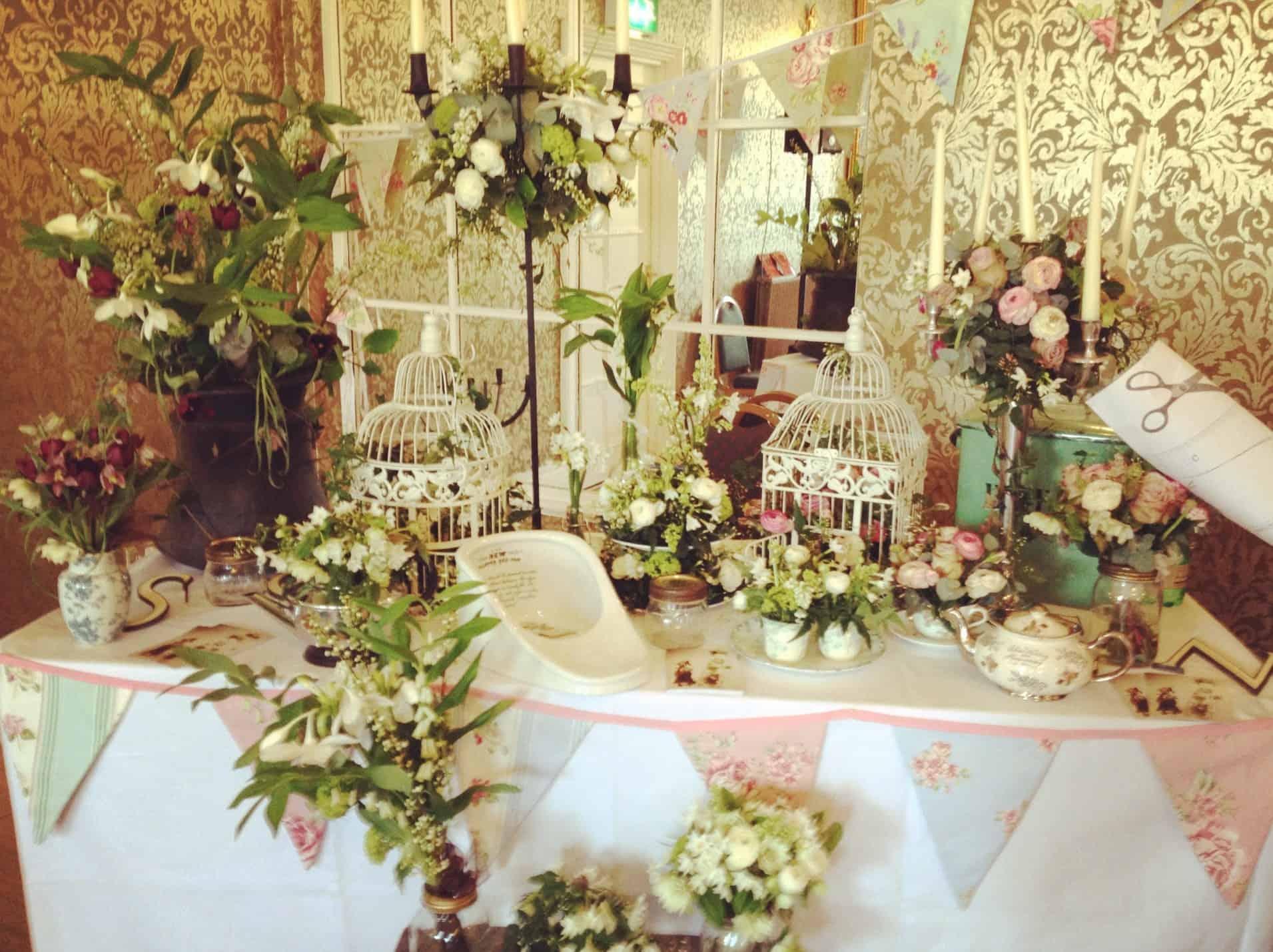 Wedding Exhibition Stall : Bristol vintage wedding fair bespoke bride