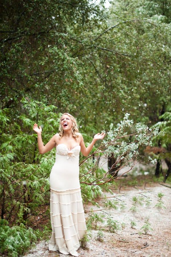 Bespoke Bride Woodland Shoot Yosemite