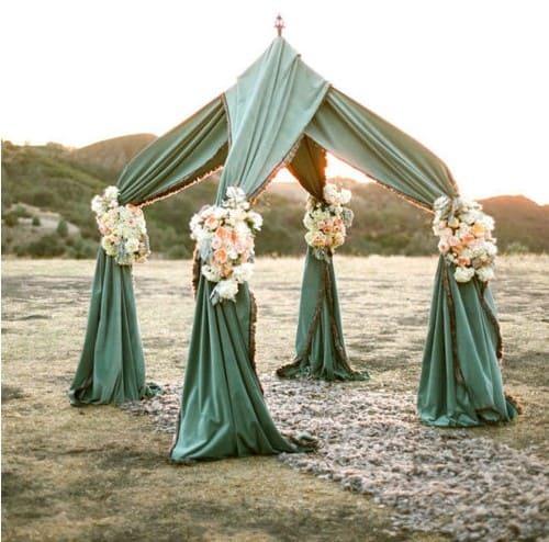 Wedding Altar Beach: Bespoke-Bride: Wedding Blog
