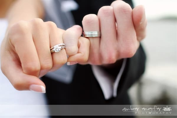 wedding ring photographs