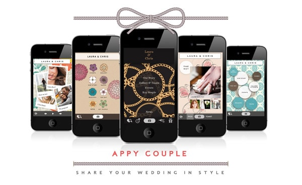 Introducing create your own wedding app with appy couple appy couple has been causing quite a stir in the world of wedding apps as of late and we are huge fans we also featured them in our top 10 wedding apps junglespirit Choice Image