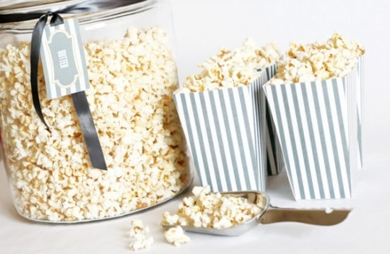 photo about Printable Popcorn Boxes identified as One particular Attractive Celebration Absolutely free Printable Popcorn Containers 36 Bespoke