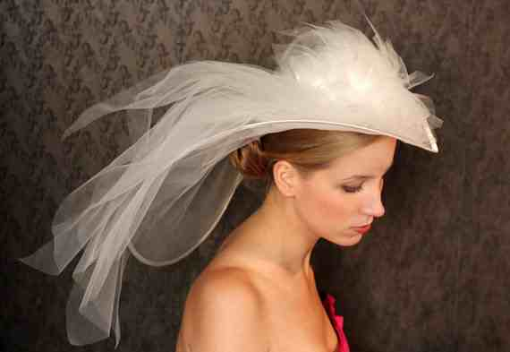 Bridal Hats With Veils images