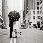 Wednesday Wedding Inspiration: Black & White Polka Dot