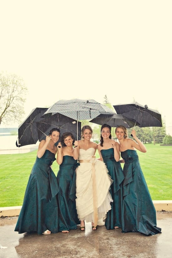 10 Photos To Have If It Rains On Your Big Day
