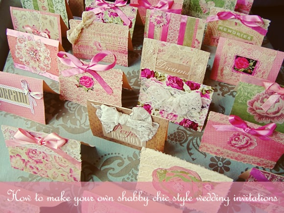 Cheap Shabby Chic Wedding Invitations: The Ultimate Guide To A Shabby Chic Wedding!