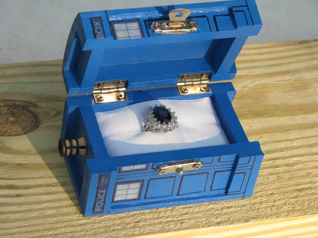 Our top 10 Geeky Engagement Rings Wedding Bands Ring Boxes