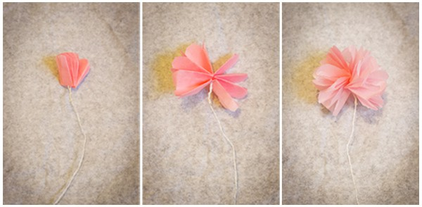 Making small flowers with tissue paper paper format how to make tissue paper flowers mightylinksfo Image collections