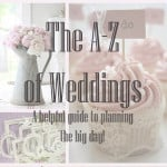 The A-Z of Everything Wedding