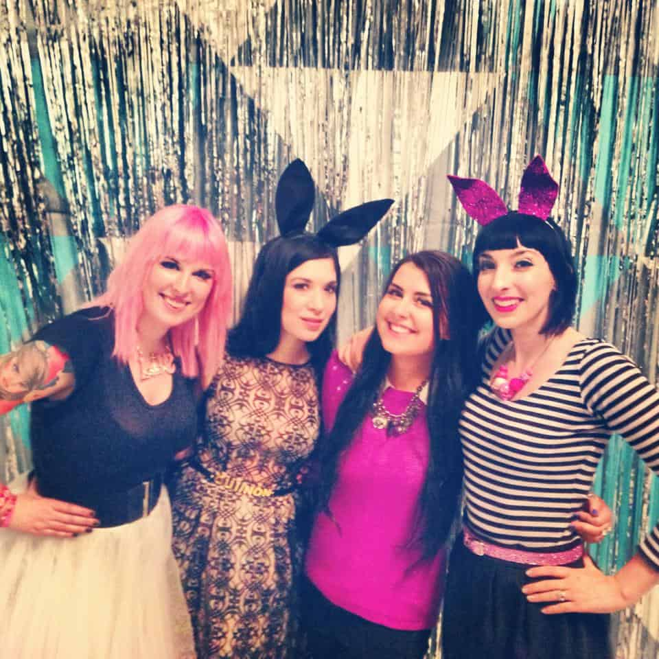 Kat, Shauna, Jess & Gala