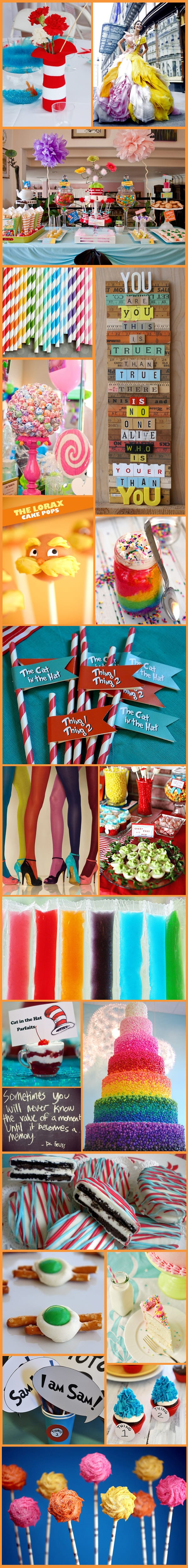 Dr Seuss Inspiration Board