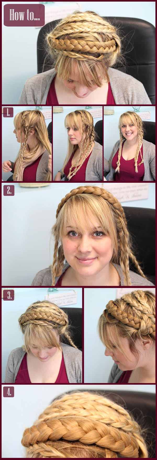 How To Braided Up