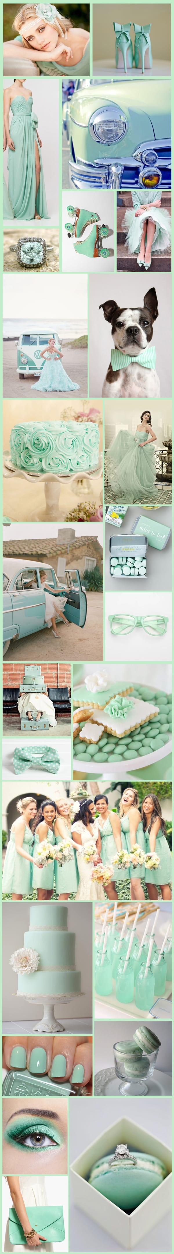 Mint inspiration board