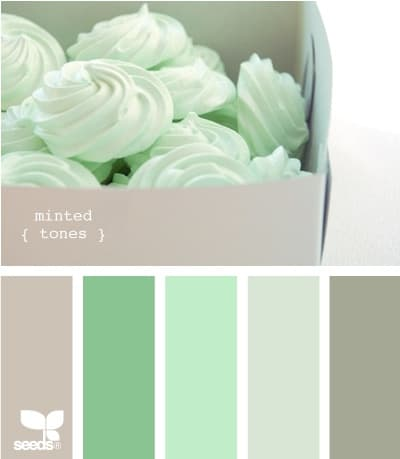 Wednesday Wedding Inspiration Its Mint To Be