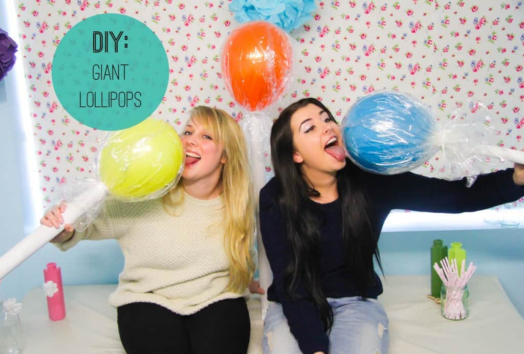 Wedding Diy How To Make Giant Candy Lollipops Bespoke