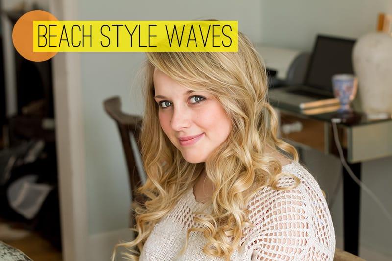 Step 6 Beach Style Waves