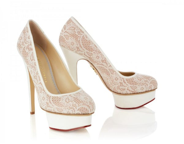 Runaway Bride By Charlotte Olympia Wedding Shoes With Super Cool Edge