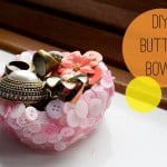 Home DIY: How To Make A Button Bowl