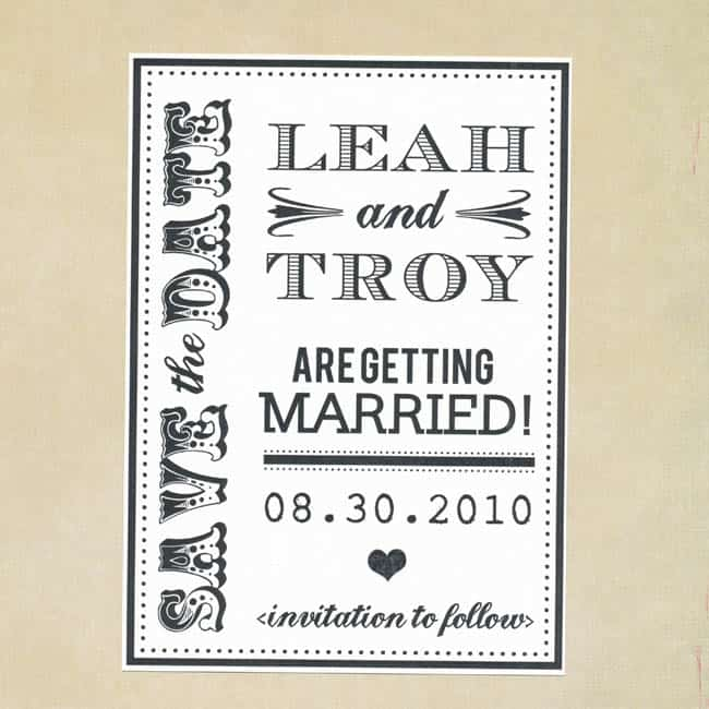 20 Invitations & Save The Dates Available To Print & Download For