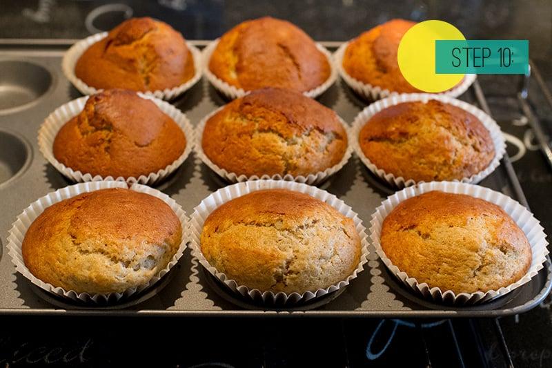 Banana Muffins10