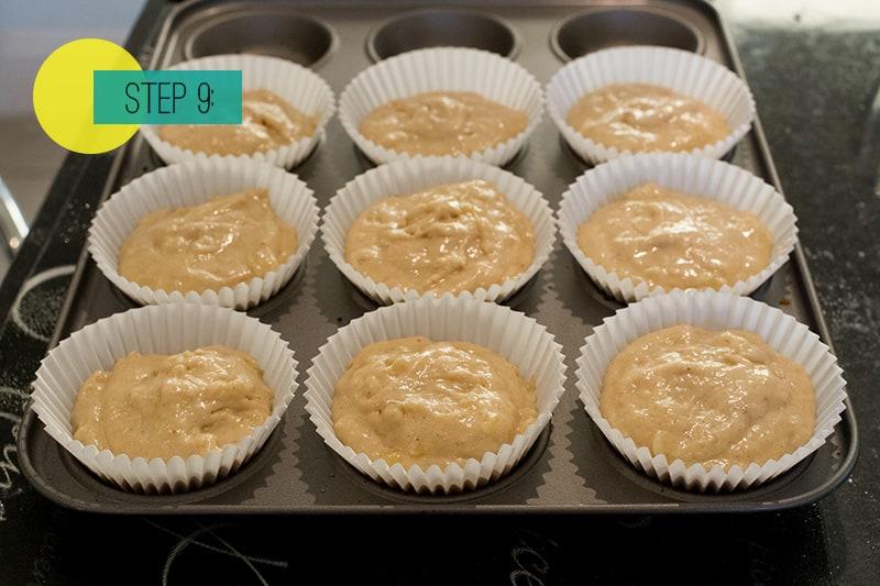 Banana Muffins9