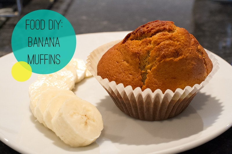 Food DIY Banana Muffins