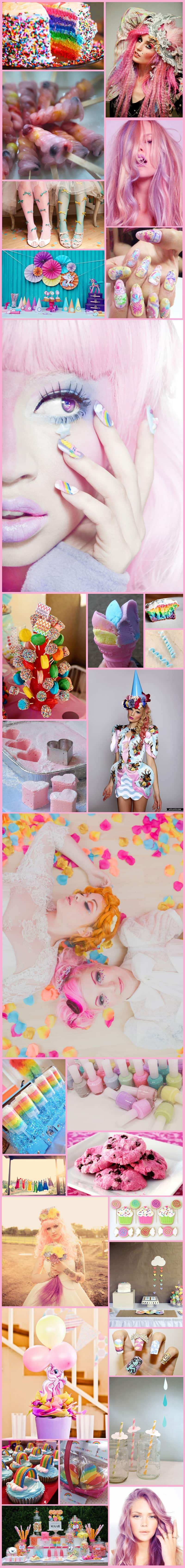 My Little Pony Inspiration Board