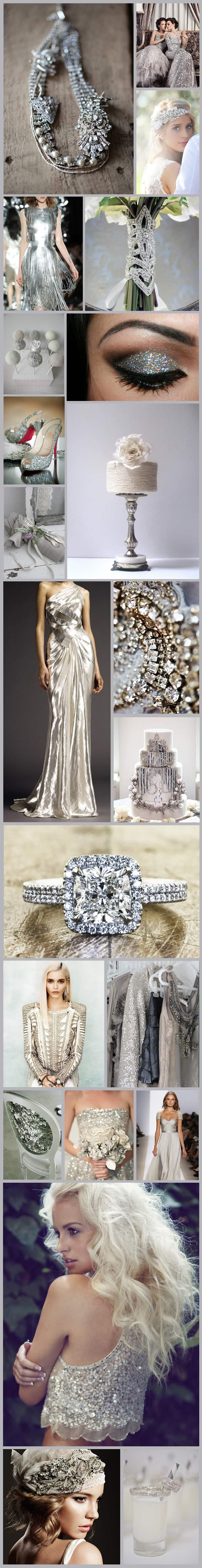 Silver Lining Inspiration Board