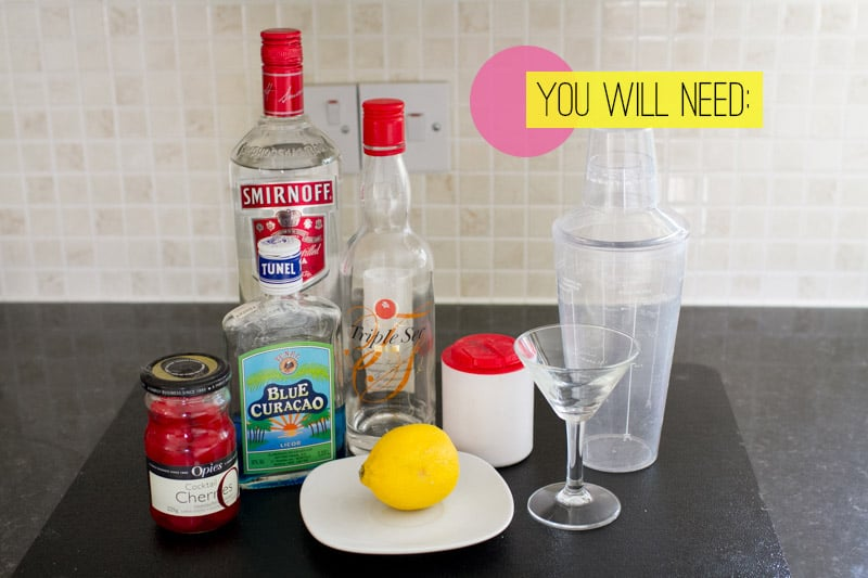Food Diy How To Make A Blue Monday Cocktail Perfect For