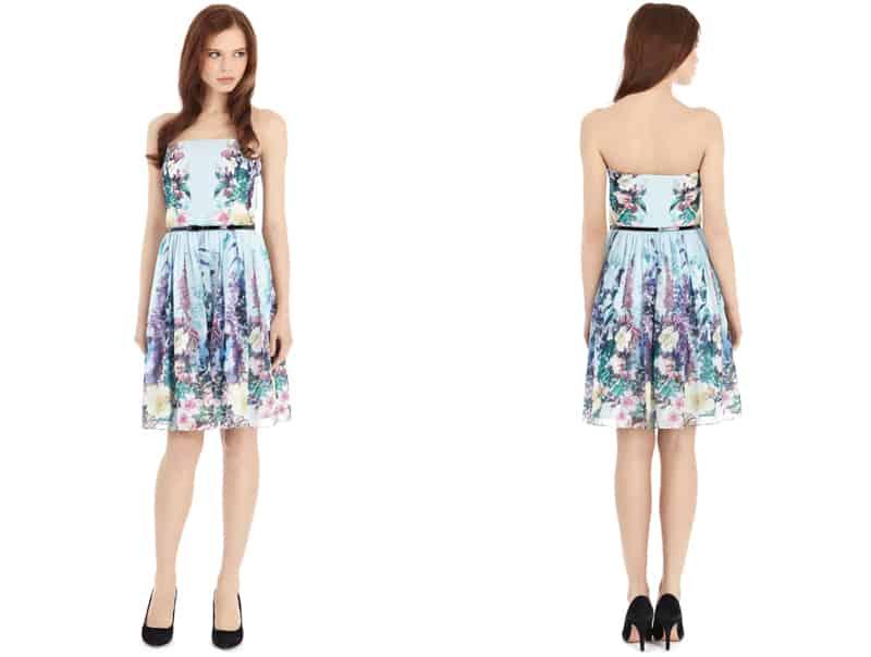 Botanica Print dress