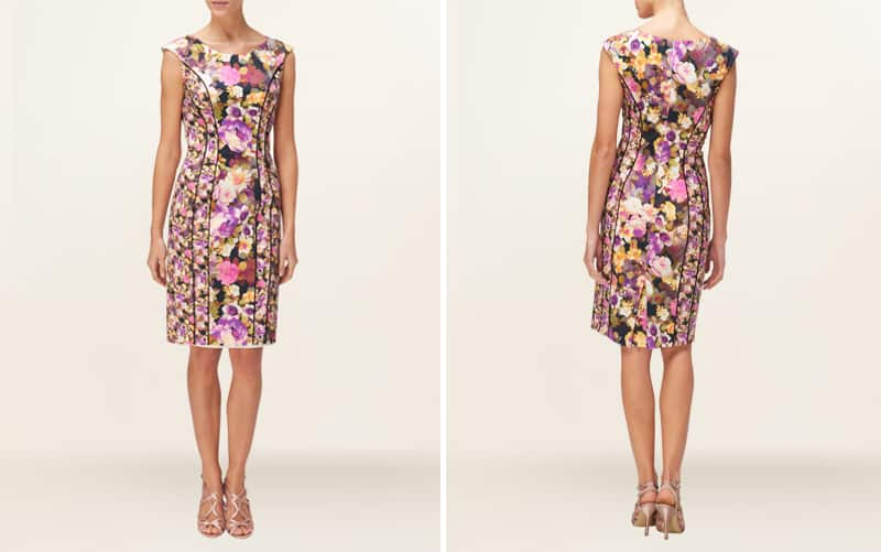 Ditsy Floral illusion dress 1