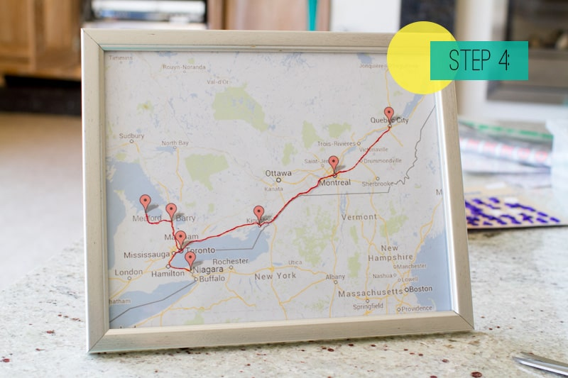 Home DIY: How To Make A Sewn Route Map! | Bespoke-Bride ... Make A Map Route on make a brochure, make a house, make a calendar, make a floor plan, your own route map, make a profile, make a schedule,
