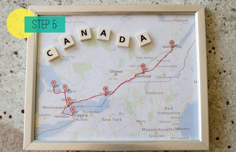 Route Map Frame 5