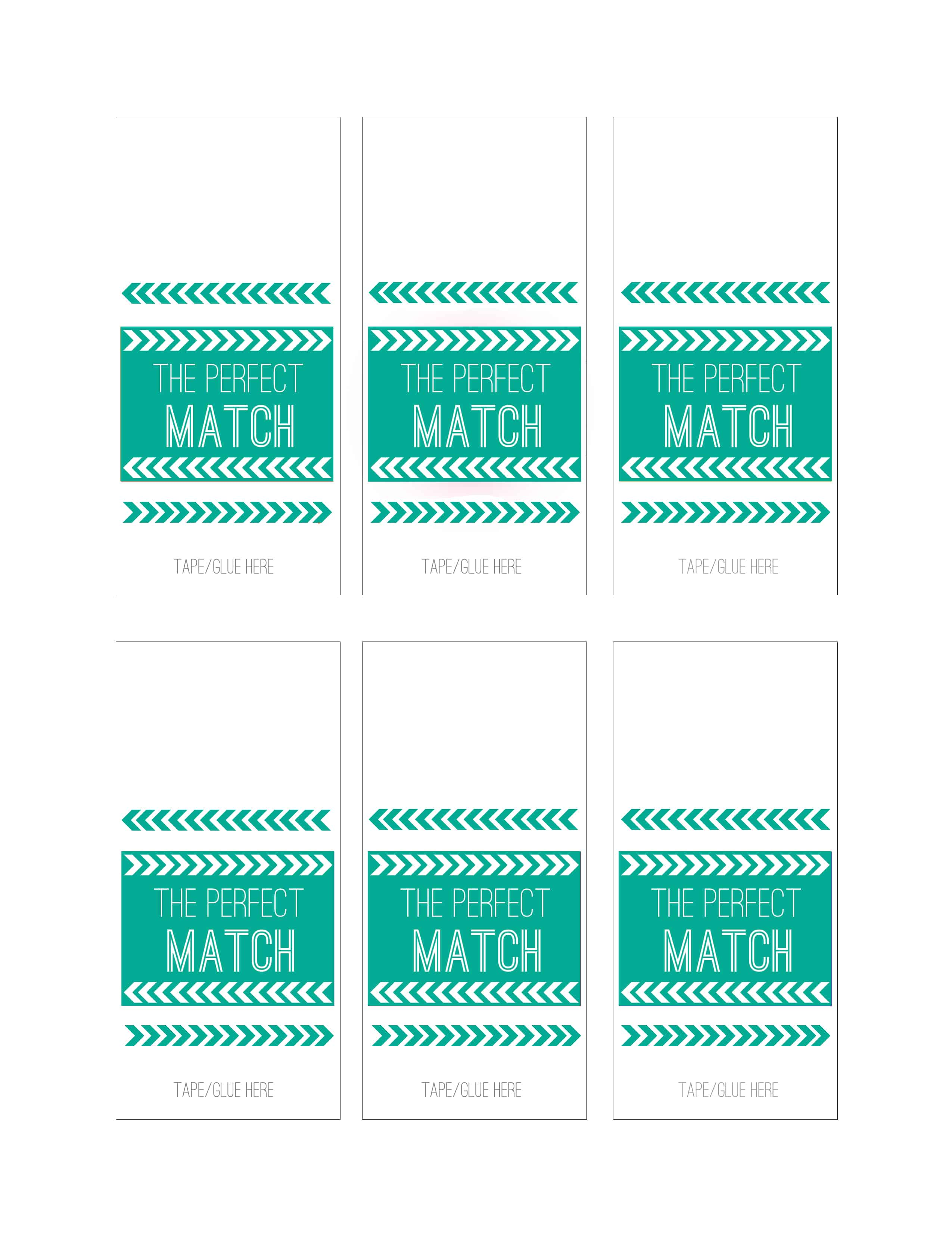 Wedding Diy Match Box Favors With A Free Download