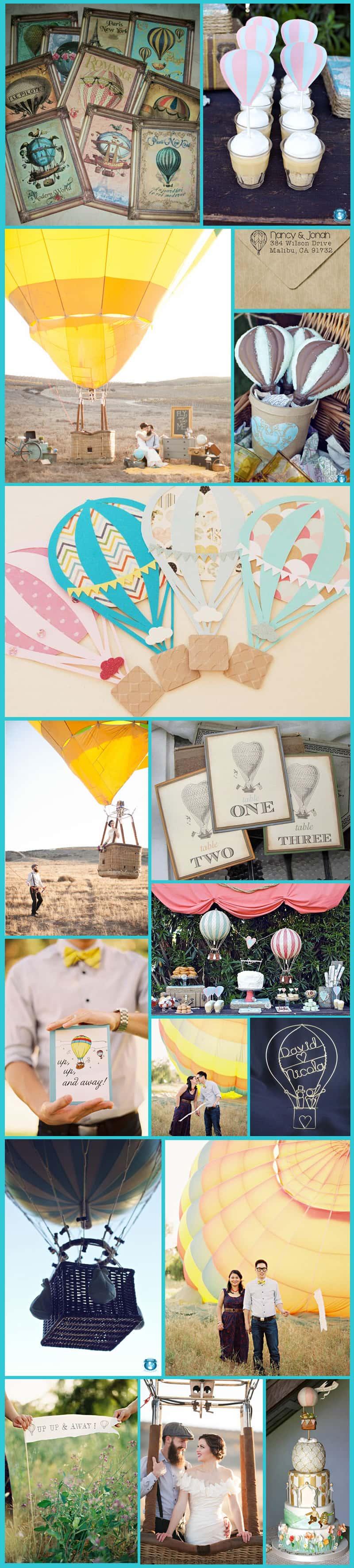 Hot Air Balloon Inspiration Board