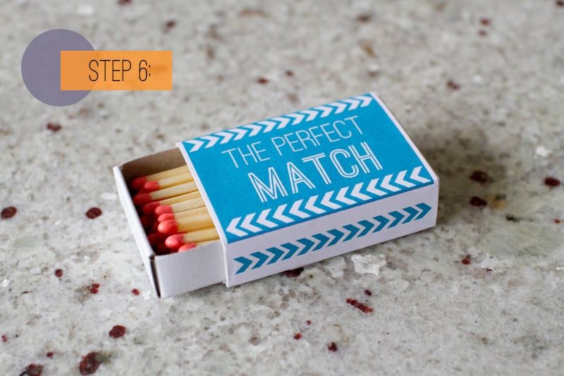 Matchbox Favor DIY-6