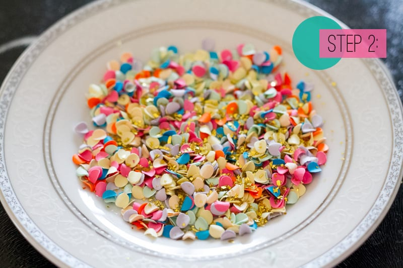 Confetti Jar Place Setting DIY-2