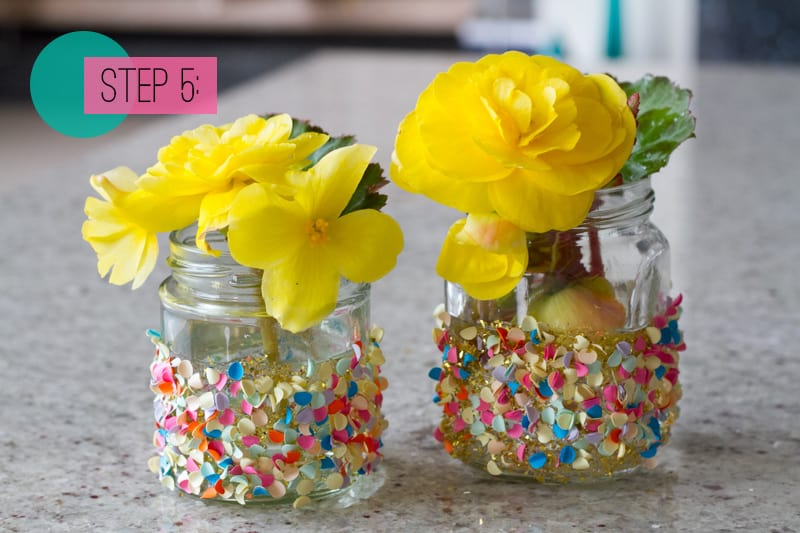 Confetti Jar Place Setting DIY-5
