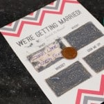 Wedding DIY: How To Make Scratch Card Wedding Invitations
