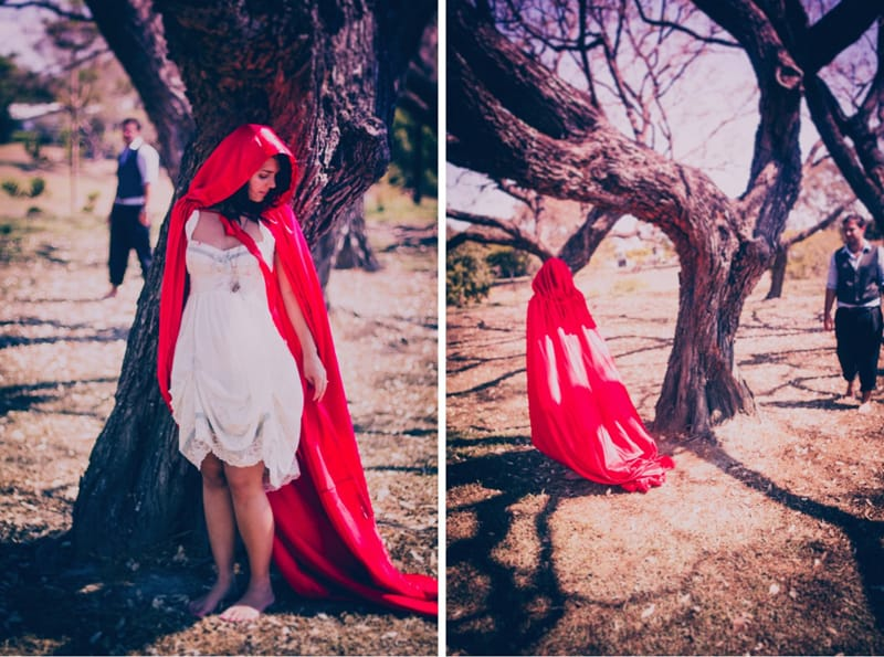 little red riding hood engagememt