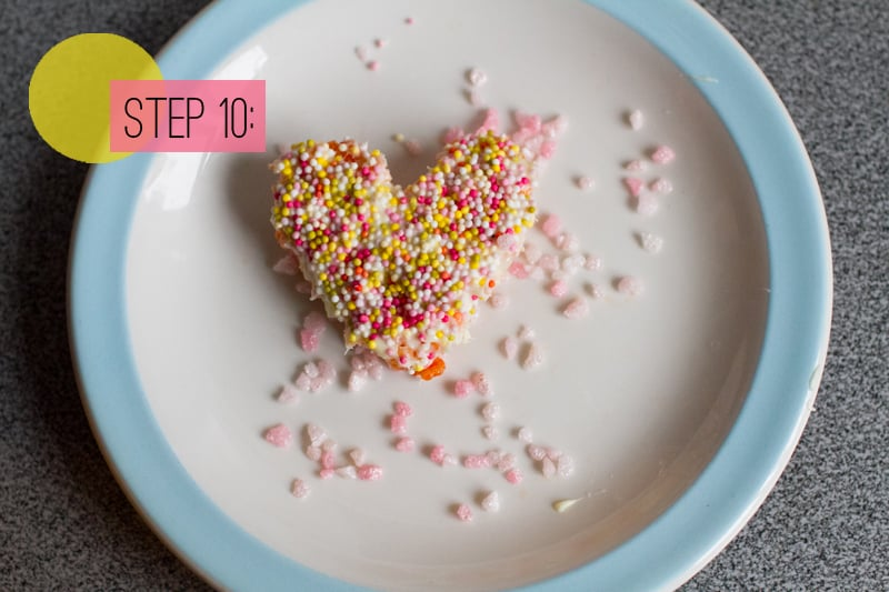 Rice Krispie Heart Cookie