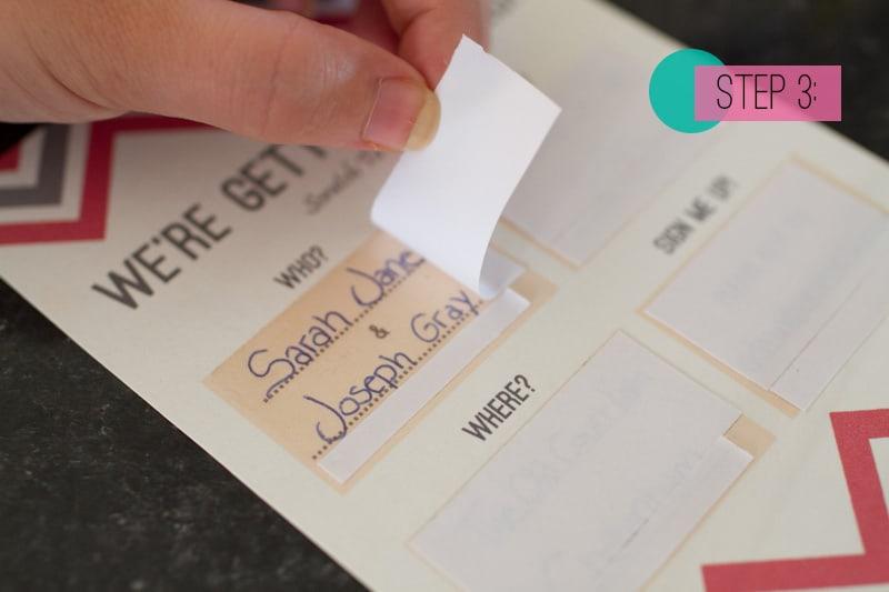 DIY Scratch Card wedding Invitations – Card Invite