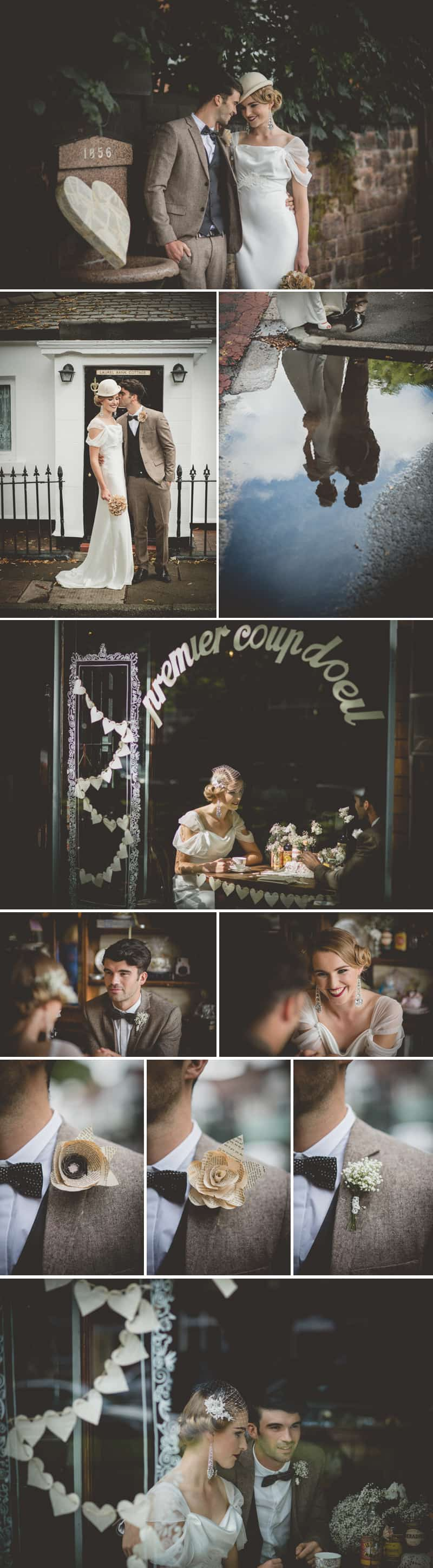 1940' Parisian Styled Shoot 2