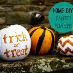 Home DIY: Painted Pumpkins!!