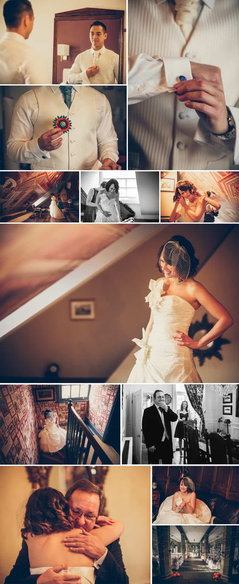 Autumn Inspired Wedding Stiches and Lace 2