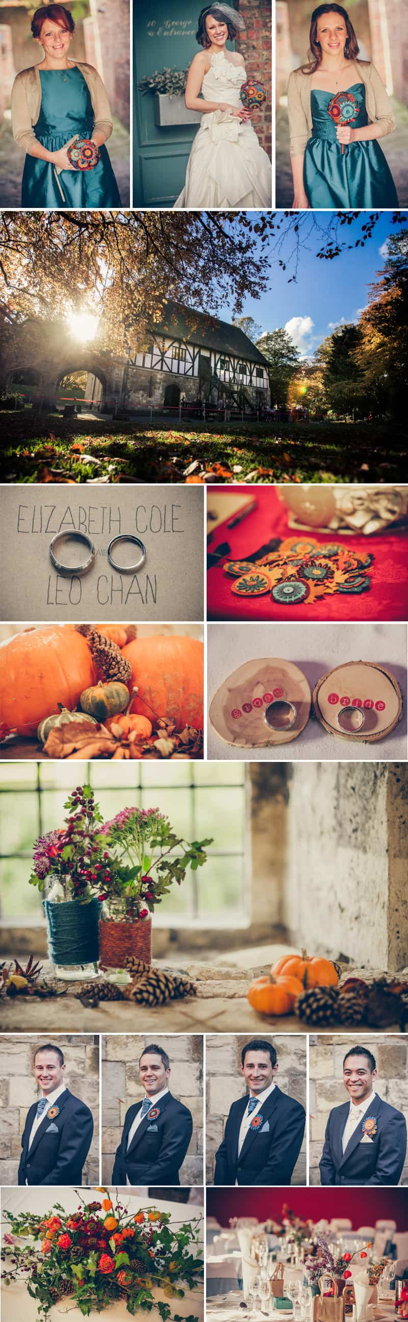 Autumn Inspired Wedding Stiches and Lace 4