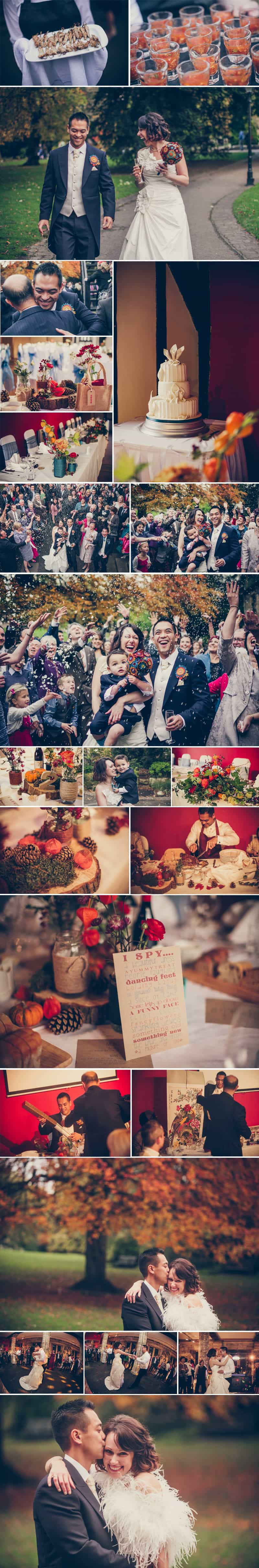 Autumn Inspired Wedding Stiches and Lace 7