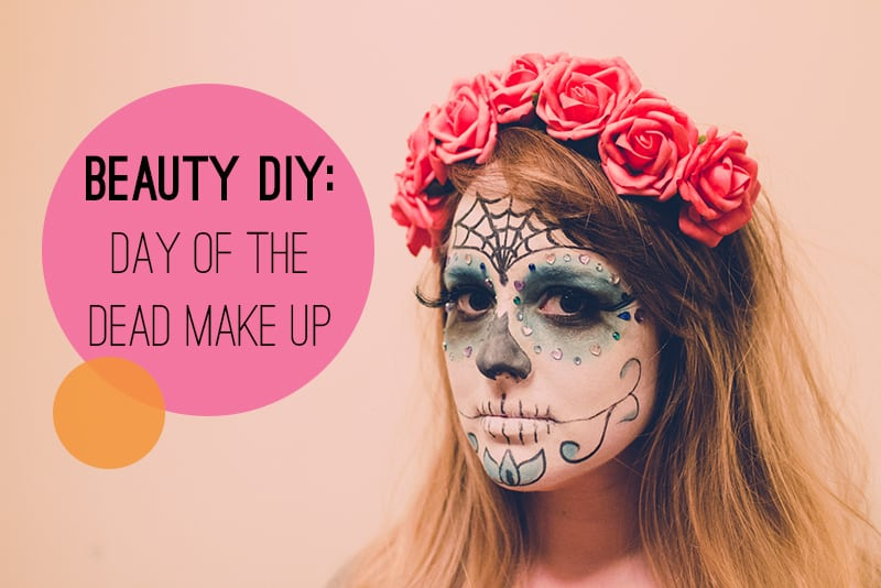 Beauty Diy How To Do Day Of The Dead Dia De Los Muertos Makeup - How-to-do-day-of-the-dead-makeup